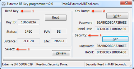 New MB Extreme - programmer and easy software for work with Mercedes-Benz  cars