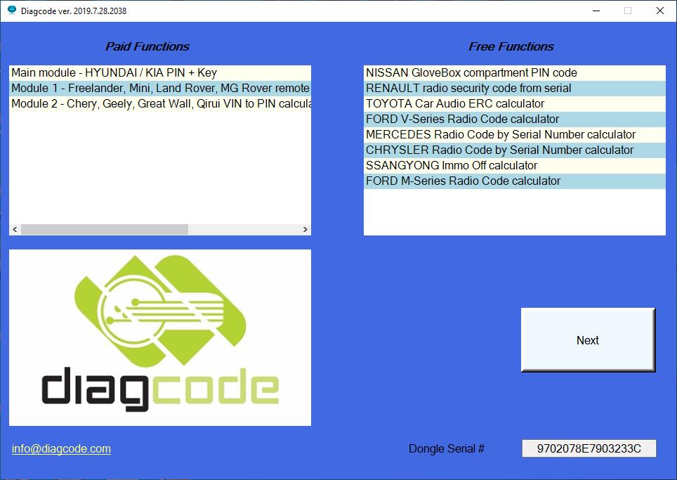 Diagcode